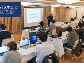ジョンズホプキンス大学 School of Public Health MPH 日本プログラムの Kyoto Spring Institute が開催されました。