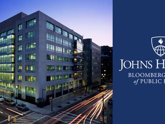 ジョンズホプキンス大学 School of Public Health MPH 日本プログラムの2022年度入学生の受付は、2021年7月31日(土)締切です。