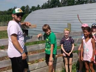 Summer Students at BGCCB