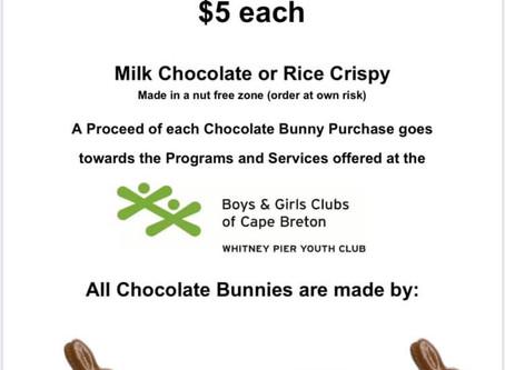 Chocolate Bunny Fundraiser