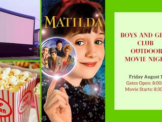 Outdoor Movie Night - Matilda Screening