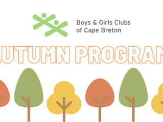 Autumn Program Updates