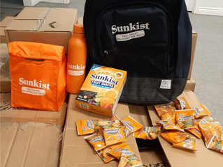 Sunkist Fruit Snacks Canada Donation
