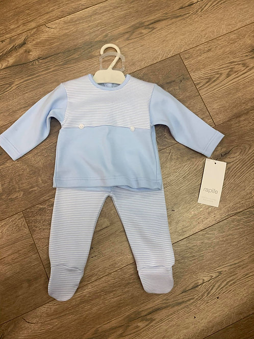 Rapife Boys Striped Top and Trousers Set