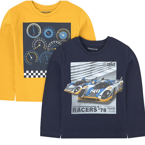 MAYORAL Set of 2 Long Sleeved T-shirts For Boy