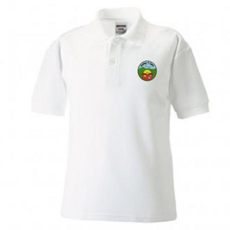 Golwg y Cwm White Polo Shirt