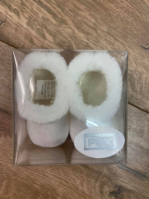 Pex Fur Trim Booties