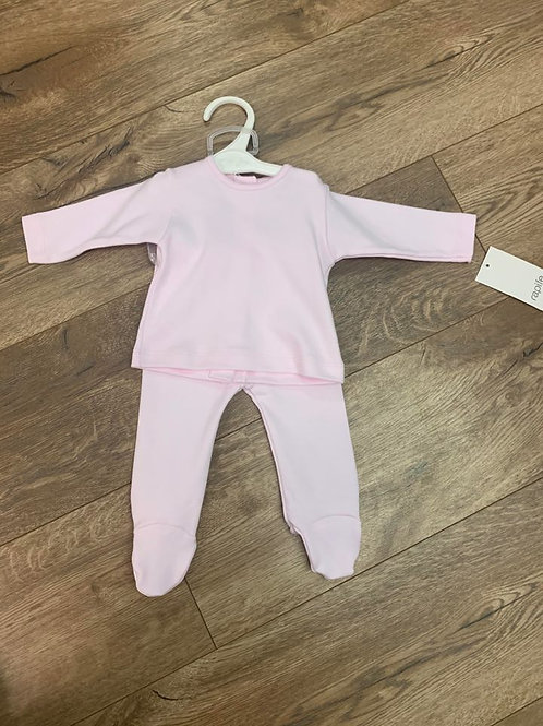 Rapife Girls Pink Top and Trousers Set