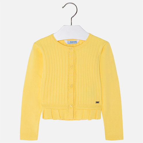 Mayoral Ribbed cardigan for girl