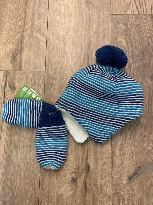 Kite Hat and Mittens Set