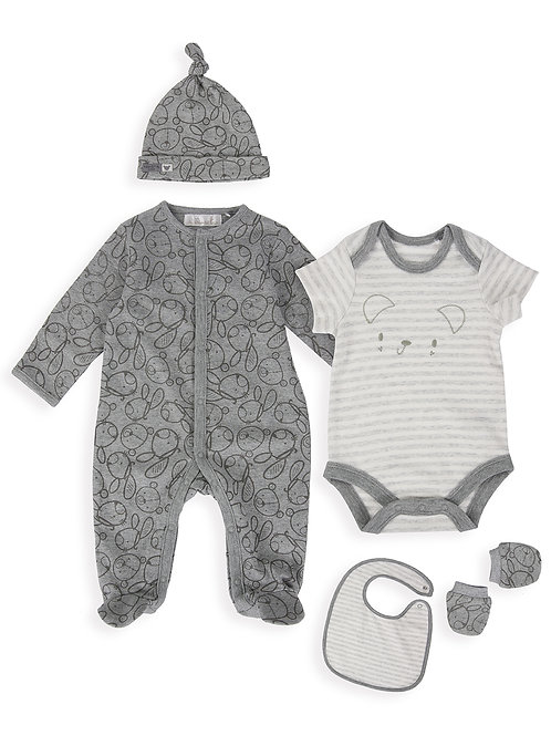 The Essential One 5 Piece Bear Baby Starter Pack