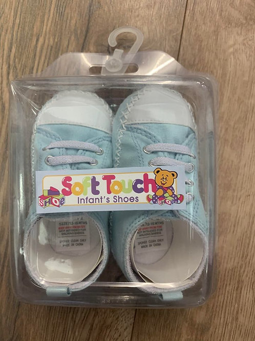 Soft Touch Boys Lace Up Infant Shoes