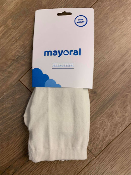 Mayoral Cream Tights