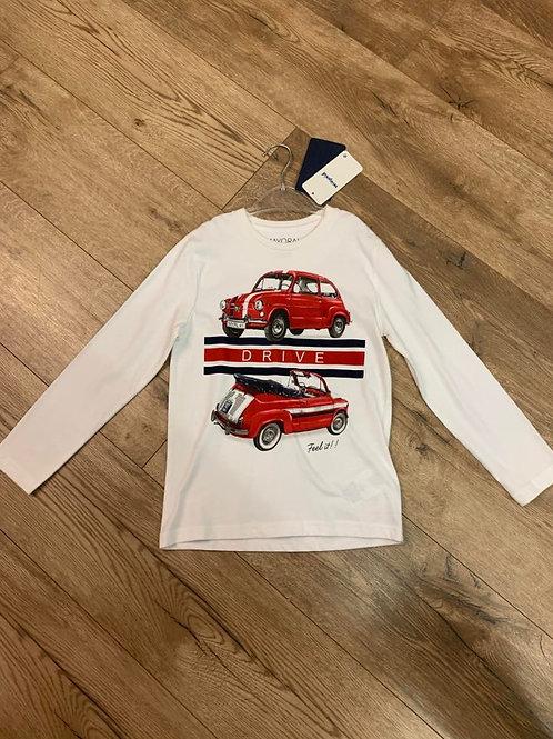 Mayoral Long Sleeved Car Top