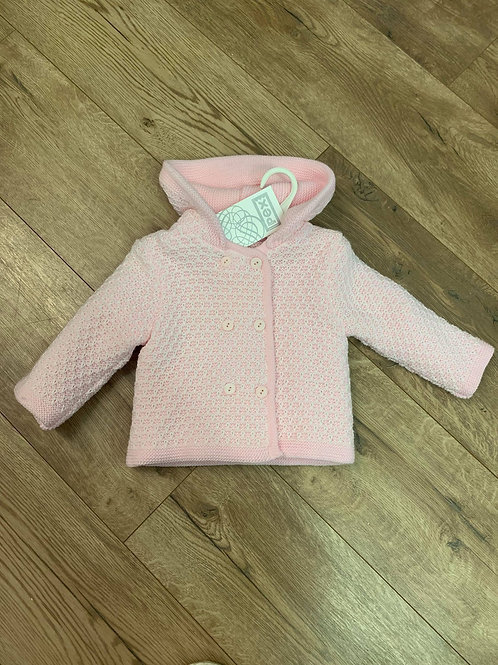 Pex Pink Knitted Jacket