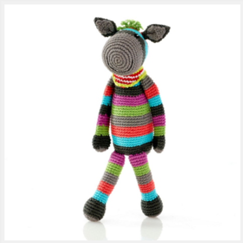DONKEY BABY RATTLE, SUITABLE FROM BIRTH