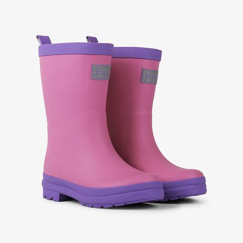 Hatley Pink & Purple Rain Boots