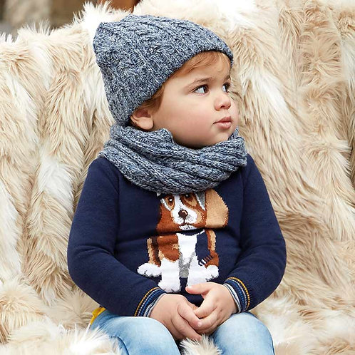 MAYORAL Dog Design Jumper For Baby Boy