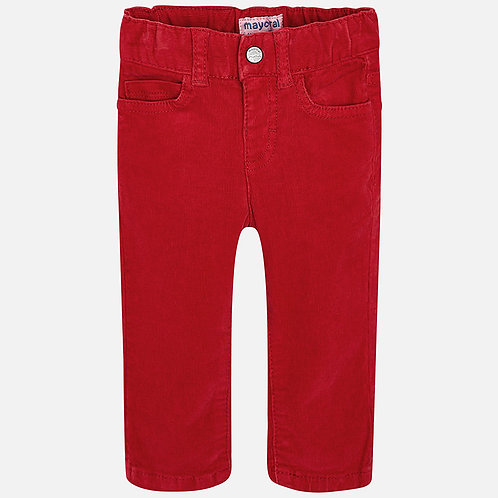 MAYORAL Corduroy Long Trousers For Baby Boy Slim Fit
