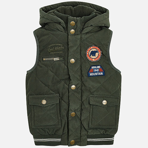 MAYORAL Padded Lined Gilet For Boy