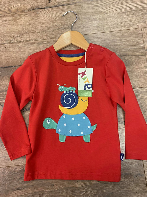 Kite Boys Red Long Sleeved Top