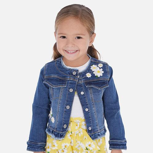Mayoral denim jacket for girl