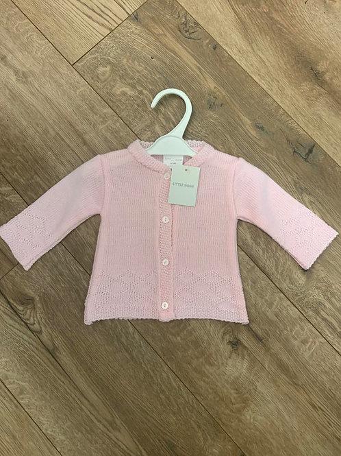 Little Nosh Pink Cardigan