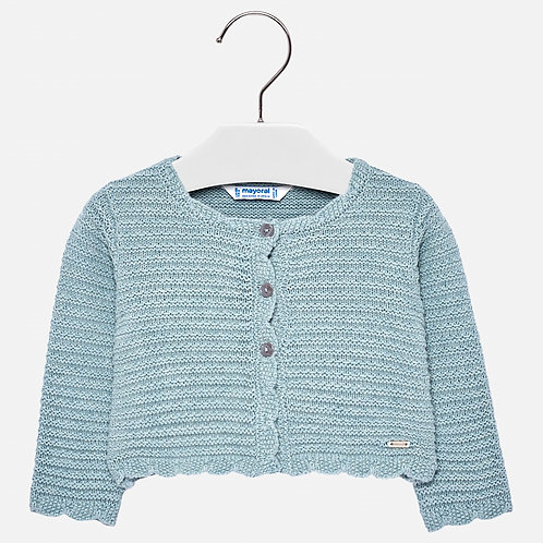 MAYORAL Wavy Cardigan For Baby Girl