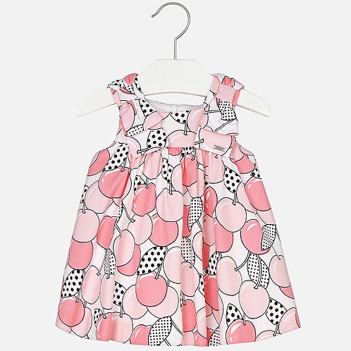 Mayoral Patterned dress for baby girl