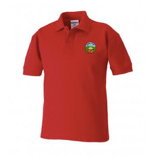 Golwg y Cwm Red Polo Shirt