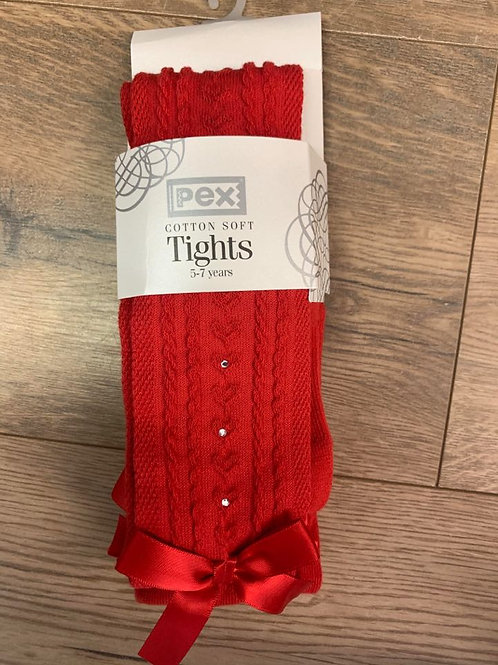 Pex Red Ribbon Tights