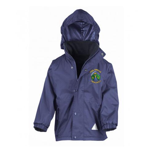 Ysgol Gymraeg Cwmllynfell Reversible Waterproof Jacket