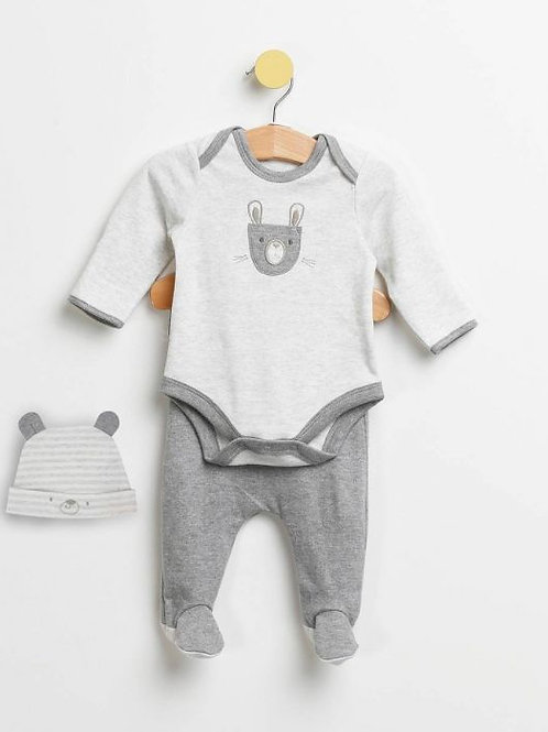 The Essential One 3 Piece Bunny and Bear Set