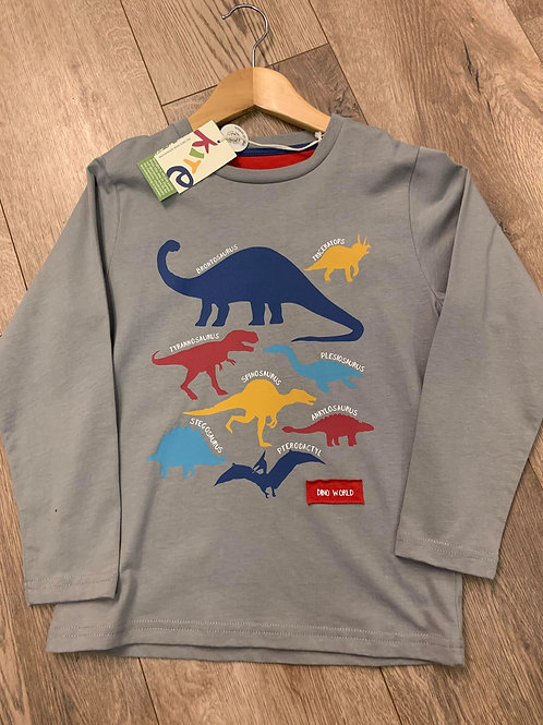 Kite Dinosaur Long-Sleeved T-Shirt