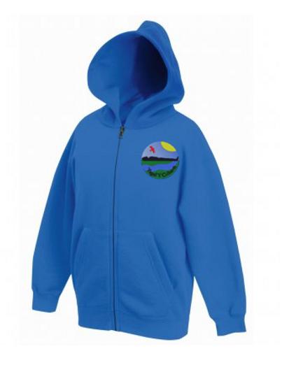 Ysgol y Cribath Zipped Hoodies