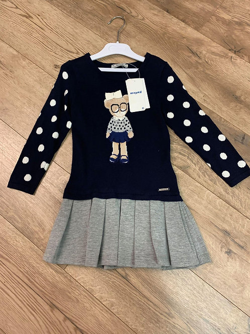 Mayoral Girls One Piece Jumper and Skirt