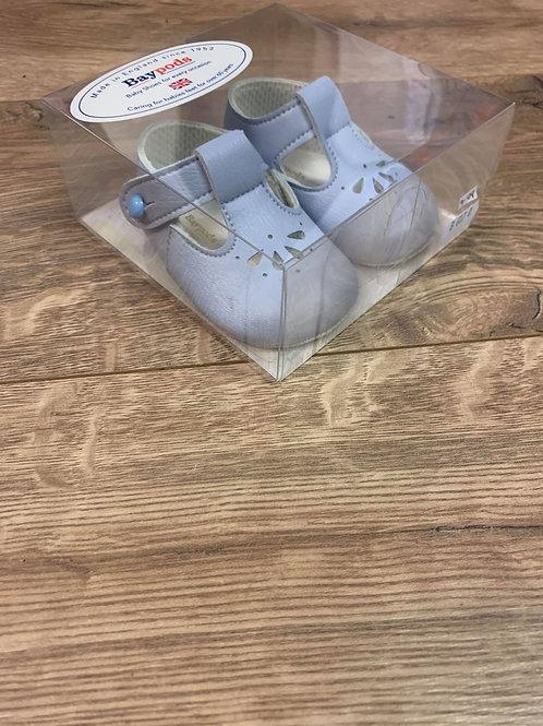 Baypods baby blue pram shoes