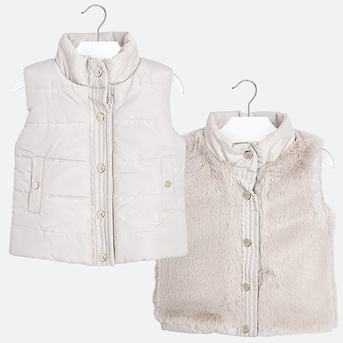 MAYORAL Reversible Gilet For Girl