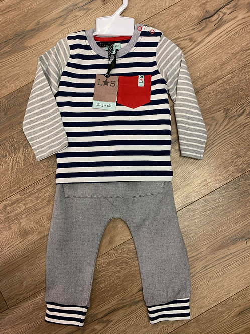 Lilly & Sid Trousers and Top Set