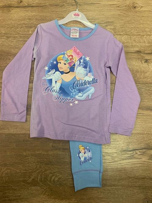 Disney Princess Cinderella Girls Pjs
