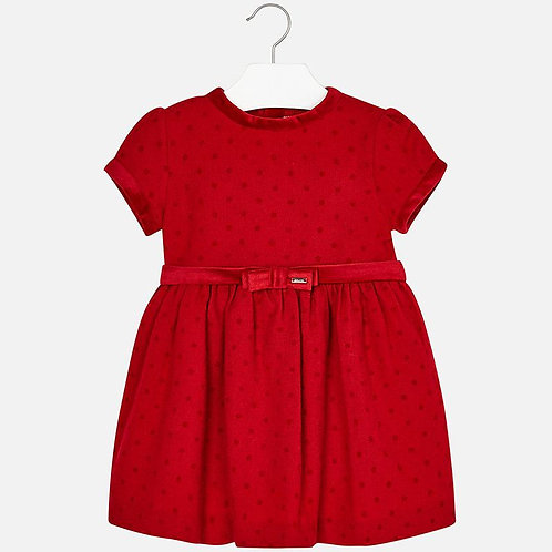 MAYORAL Red Dress For Girl