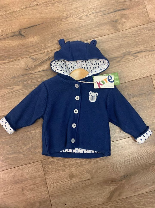 Kite Navy Bear Jacket