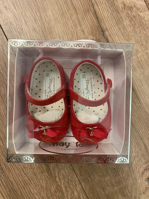 Mayoral Girls Pram Shoes