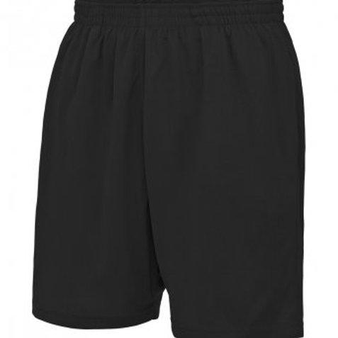 Black Unisex PE Shorts