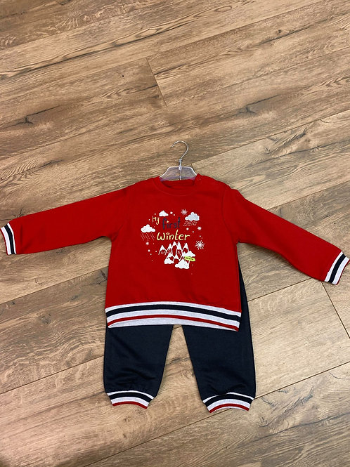 Baby Bol My First Winter Two Piece Set