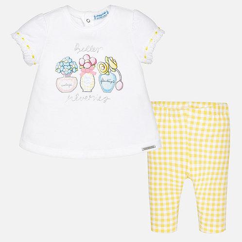 Mayoral Baby girl leggings set