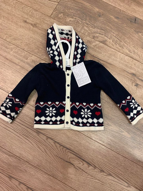 Pex Knitted Hooded Jacket
