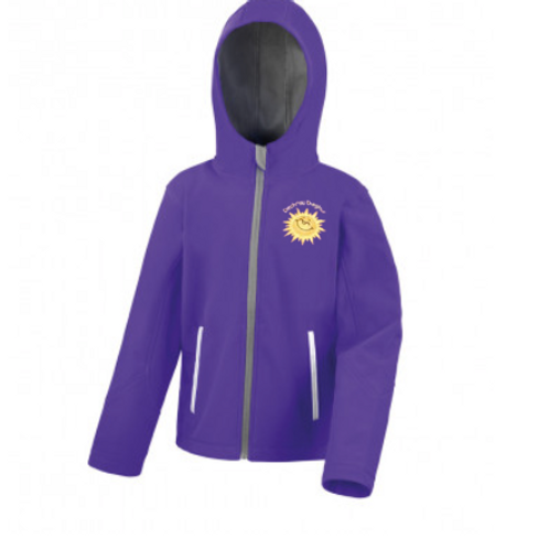 Dechrau Disglair Soft-shell Jacket