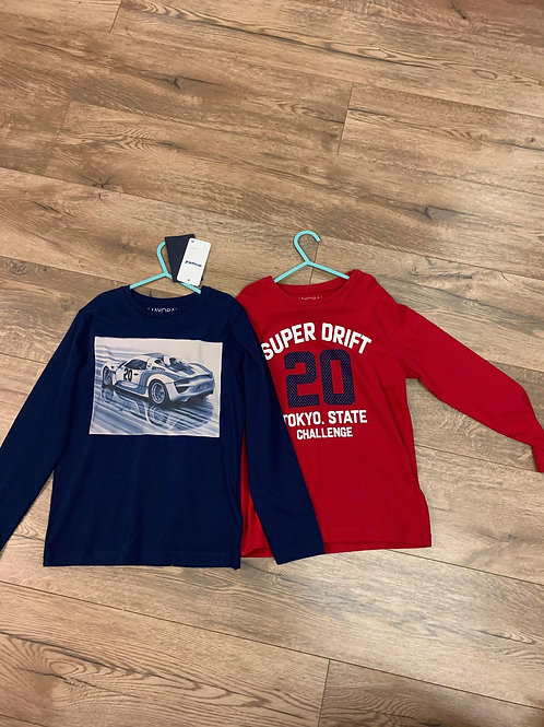 Mayoral Boys Long Sleeved T Shirts Twin Pack