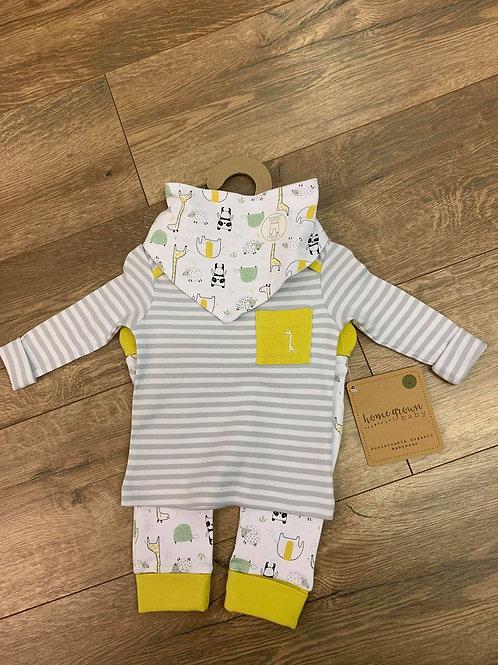 Homegrown Baby Organic Three Piece Set